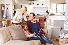 Acomodação - 4 semanas - Casa de Familia - Meia Pensão
