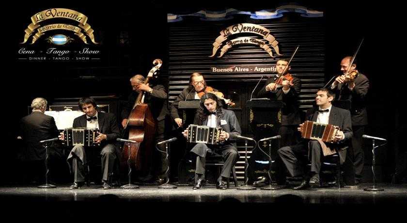 Jantar e Show de Tango - La Ventana - Regular com Traslado